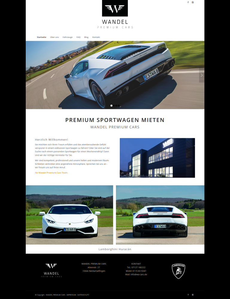 WEBSITE PREMIUM CARS 2017
