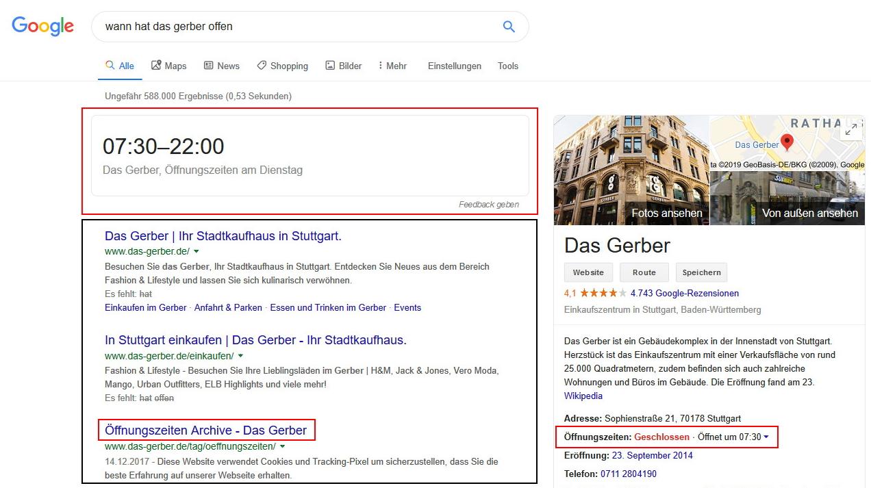 Google Suche Desktop